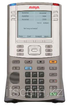 Avaya (Nortel) IP Phone 1150E Graphite with Icon Keycaps, without Power Supply - Ай Ти Эс Ком в Алматы