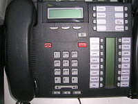 Avaya (Nortel) T7316E Telephone Charcoal, фото 1