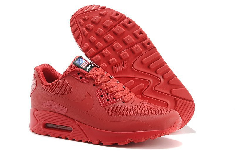 """Кроссовки Nike Air Max 90 Hyperfuse """"Indipendence day"""", 44 размер"""