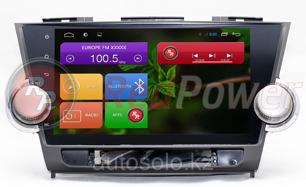 Автомагнитола Toyota Highlander OS Android 6