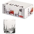 Набор низких стаканов  Pasabahce Luna 6 шт. 42338, фото 2