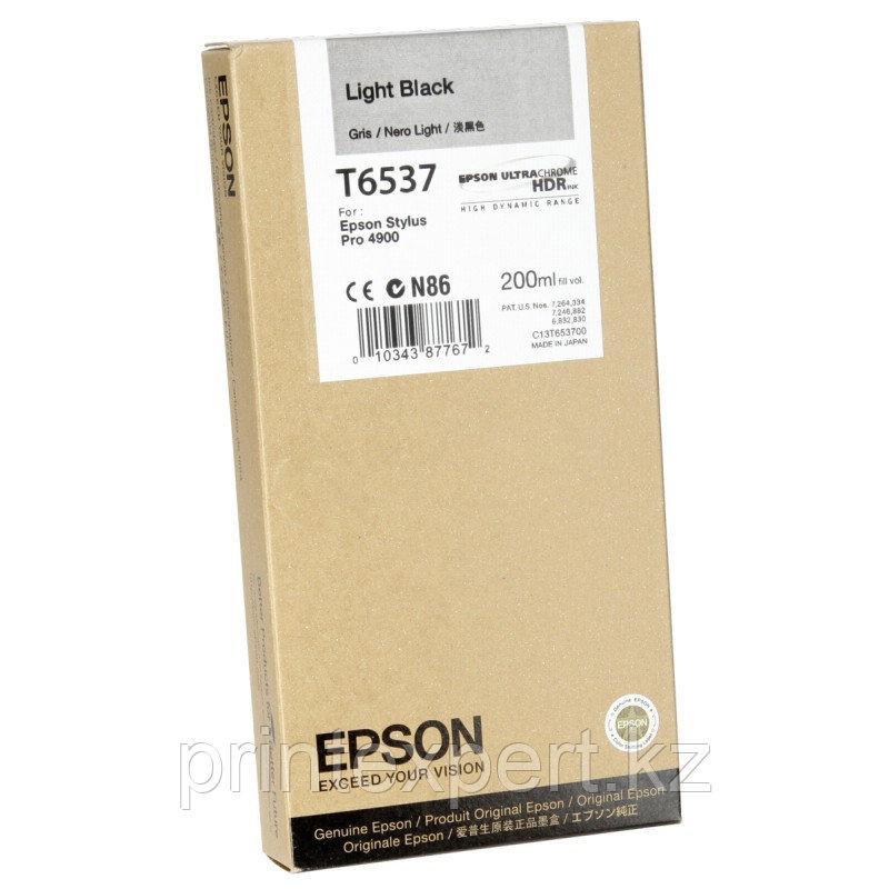 Картридж C13T653700 for Stylus Pro 4900 Ink Cartridge (200ml) : Light Black