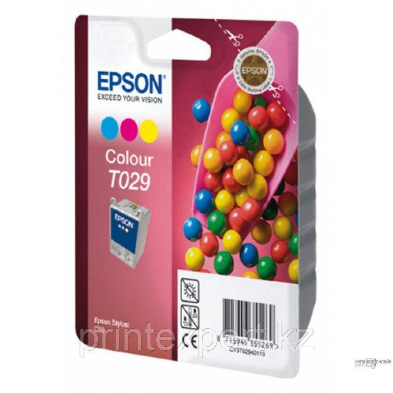 Картридж Epson C13T02940110 STYLUS C60 цветной