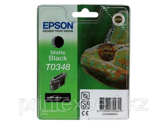 Картридж Epson C13T03484010 SP2100 матовый черный, фото 2
