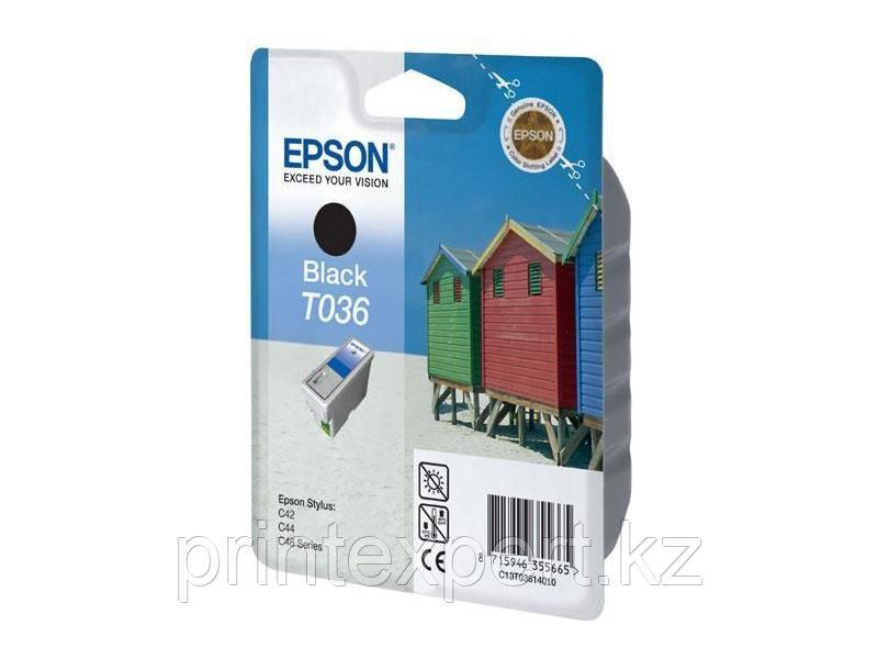 Картридж Epson C13T03614010 STYLUS C42 черный