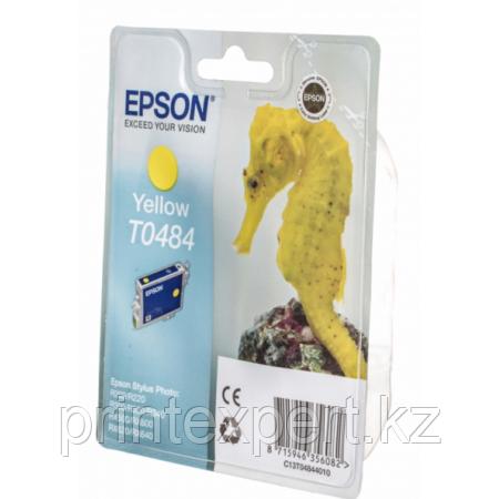 Картридж Epson C13T04844010 R200/R300/RX500/RX600 желтый