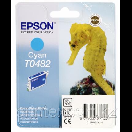 Картридж Epson C13T04824010 R200/R300/RX500/RX600 голубой, фото 2