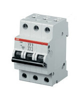 2CDS213001R0064 Автоматический выключатель ABB, SH203L  3P 6А (С) 4.5 kA