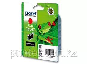 Картридж Epson C13T05474010 STYLUS PHOTO R800 красный, фото 2