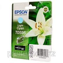 Картридж Epson C13T05954010 R2400 светло-голубой, фото 2