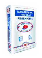 Шпатлевка Finish Gips Геркулес 15 кг