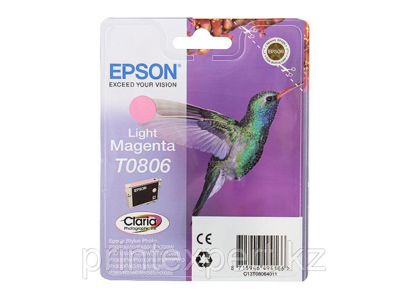 Картридж Epson C13T08064011 P50/PX660 светло-пурпурный