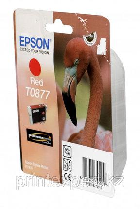 Картридж Epson C13T08774010 R1900 красный, фото 2
