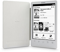 "Электронная книга Sony PRS-T3 Touch edition, 6""e-ink display, 758x1024, MS/SD, USB, white"