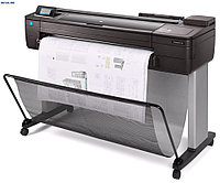 Плоттер HP DesignJet T730 (F9A29A) 4 ink color, 2400x1200, 1Gb, 25sec/A1, sheet & roll feed, automatic cutter, Ethernet+WiFi, Stand, Printhead  HP