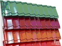 Полимерная порошковая покраска кровельных материалов;