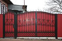Ворота металлические 25