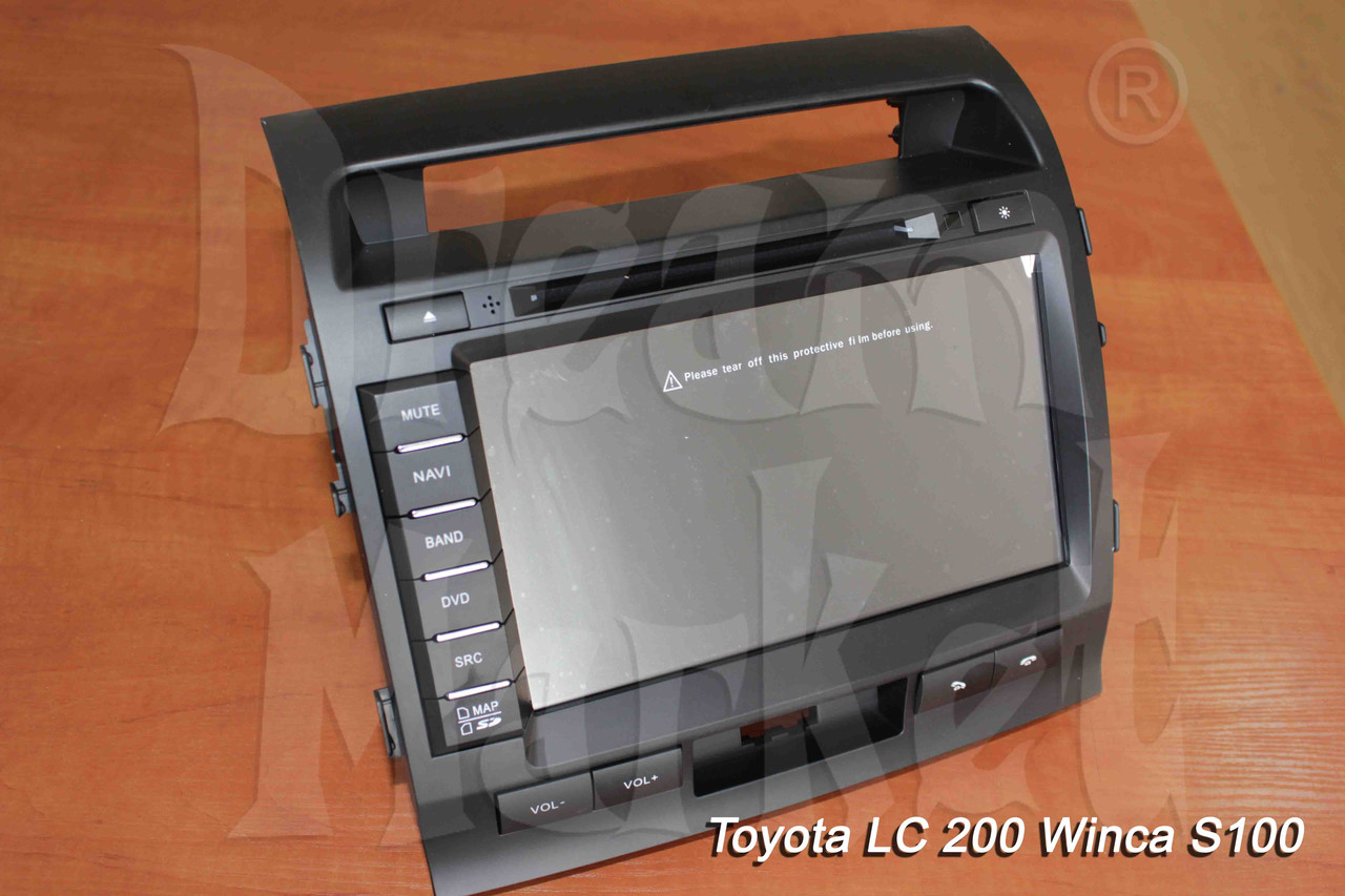 Автомагнитола Toyota Land Cruiser 200 Winca S100
