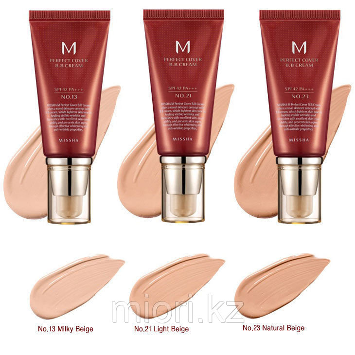 MISSHA Perfect Cover BB Cream SPF42/PA+++ ,50мл