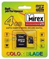 MicroSD с адаптером Mirex 32Gb
