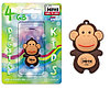USB Mirex kids MONKEY BROWN  4GB