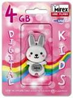 USB Mirex kids RABBIT GREY 4GB