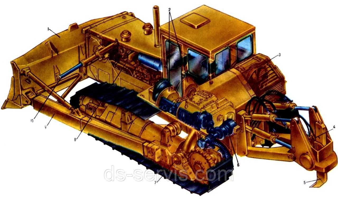 Вал 1-й промежуточный в сб. 50-12-230СП
