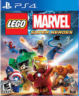 Lego Marvel Super Heroes игра на PS4