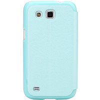 Чехол rock samsung galaxy win gt-i8552, серия excel, цвет светло-синий (light blue)
