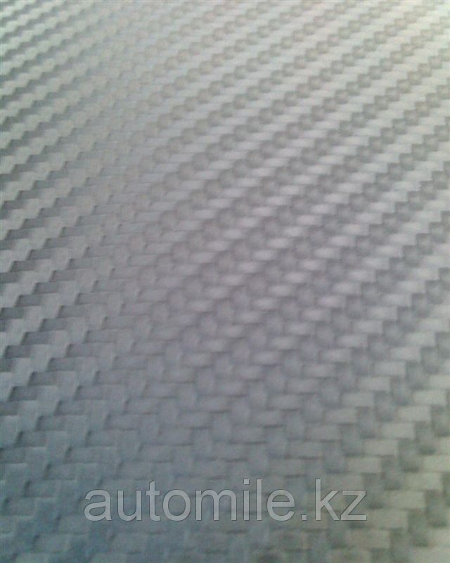 Карбоновая 3D,3Д пленка  Серая ширина 1.27м