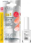 EVELINE  Здоровые ногти 8в1 Silver Shine Nail