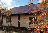 Акриловая Фасадная панель STONE HOUSE (Стоун Хаус) под камень и кирпич, цвет: Кирпич-Графитовый, фото 3