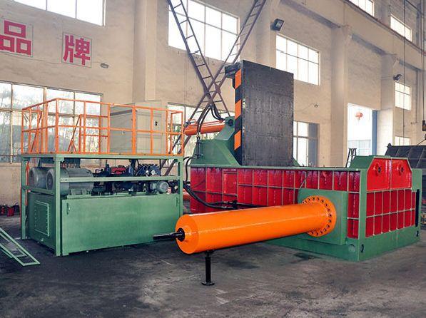 Пресс для пакетирования металлолома Y81T-3150C Plus (TFKJ)