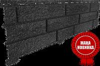 Акриловая Фасадная панель STONE HOUSE (Стоун Хаус) под камень и кирпич, цвет: Кирпич-Графитовый, фото 1
