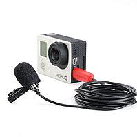 SARAMONIC SR-GMX1 Платиновый петличный микрофон с ветрозащитой, фото 1