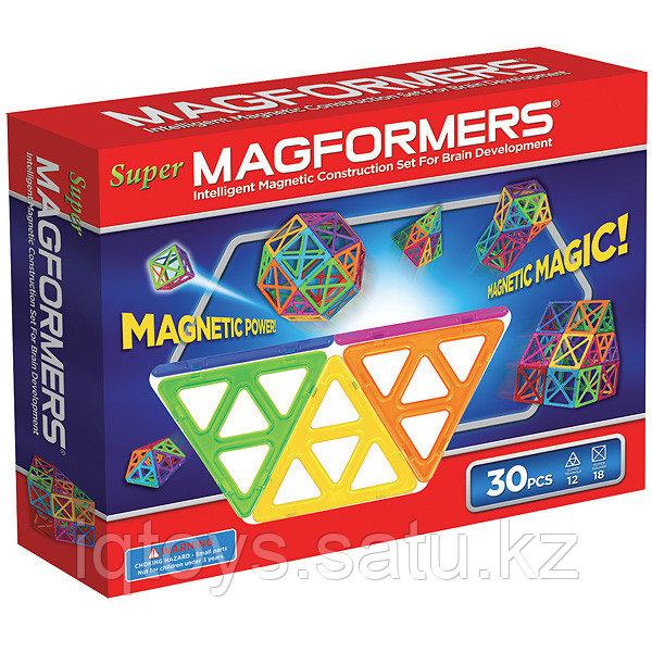 Магнитный конструктор Super Magformers 30 (30 деталей)
