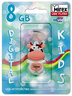 USB флэш-накопитель Mirex kids COW PEACH  8GB (ecopack)