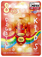 USB флэш-накопитель Mirex kids DRAGON RED  8GB (ecopack)