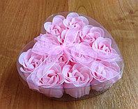 "Мыло ""Лепестки роз"" розовое"