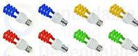 Цветные энергосберегающие лампочки, фото 1