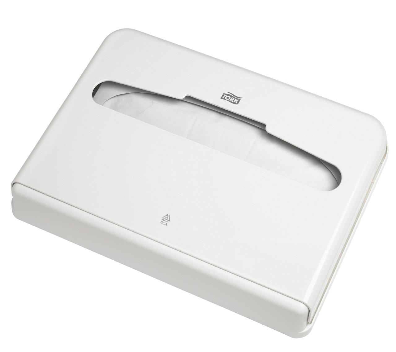Tork диспенсер для бумажных покрытий на унитаз 344080