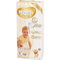 Подгузники HUGGIES Elite soft 5 11-25kg 56шт пак