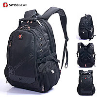 "Backpack,Textile,Black,Audio out,15.6"",SWISS GEAR Multifunction (рюкзак ,матерчатый)  M:1418"