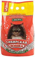 Наполнитель кошачьих туалетов Сибирская Кошка Экстра впитывающий для длинношерстных