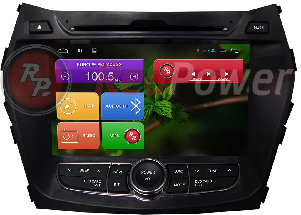 Автомагнитола Hyundai Santa Fe на OS Android