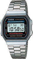 Мужские часы Casio A168W-1 Stainless Steel Watch