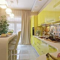 Кухня крашеная Лимон