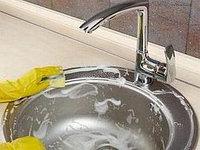 Правила ухода за кухонными мойками