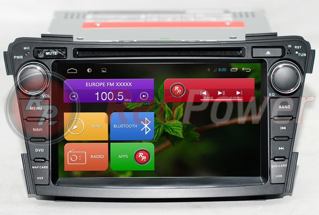 Магнитола для Hyundai I40 (OS Android)