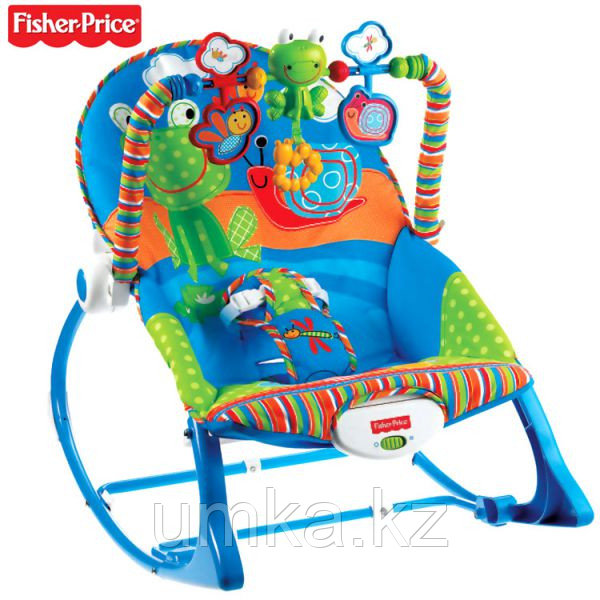 Кресло-шезлонг «Лягушонок» Fisher Price 7033